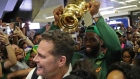 Victorious Springboks arrive home to heroes' welcome