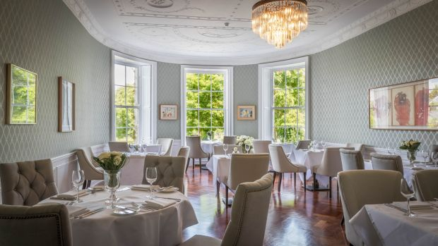 Start your visit with afternoon tea in the historic setting of Butler House on Patrick Street