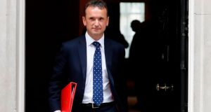"Alun Cairns: ""This is a very sensitive matter and in the light of continued speculation, I write to tender my resignation as Secretary of State,"" he said in a letter to Boris Johnson. Photograph:  Tolga Akmen/AFP via Getty Images"