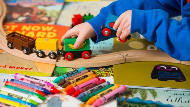 Schools in Ireland are obliged to open for 183 days a year, so if both parents are working, then after-school childcare costs will have to be added to the bill. Photograph: Dominic Lipinski/PA Wire