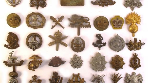 Eggs for Badges: The collection of military badges during the first World War assembled by a Welsh teenage girl (€150–€200)