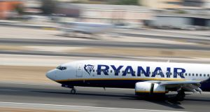 A report of an incident involving a Ryanair flight at Memmingen Airport, in Germany is at the centre of a legal row in defamation proceedings between the airline and one of its former pilots. Photograph: Rafael Marchante/Reuters