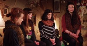 Landless are a four piece featuring Ruth Clinton, Meabh Meir, Sinead Lynch and Lily Power