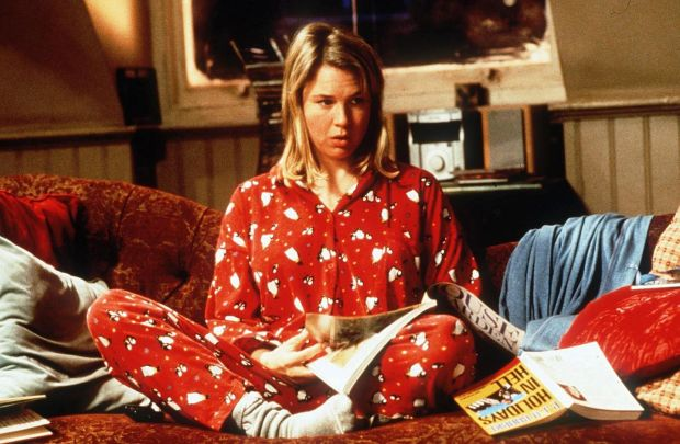 Bridget Jones, the vodka-slurping poster child for miserable spinsters
