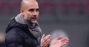 Manchester City's Catalan manager Pep Guardiola is the best in the world according to Jurgen Klopp. Photograph: Getty Images