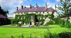 The five-star Mount Juliet hotel in Thomastown, Co Kilkenny. The estate is home to a Jack Nicklaus-designed 18-hole championship golf course