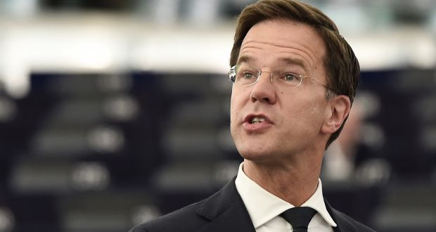 Dutch Prime Minister Mark Rutte:  his own Liberal party has been vigorously opposed to the legislation. Photograph: Frederick Florin/AFP/Getty Images