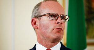 Aoife Ní Mhurchú of Medicines Sans Frontiers Ireland met with Minister for Foreign Affairs Simon Coveney, above,  on Thursday. Photograph: Henry Nicholls/Reuters