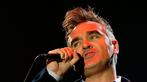 Morrissey performs at the The Carling Weekend: Reading Festival in 2004 in England. Photograph: Jo Hale/Getty Images