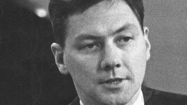 Gay Byrne in his early television years. Photograph: The Irish Times