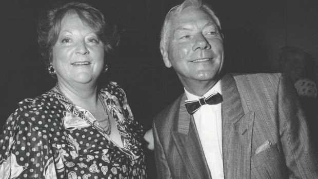 Kathleen Watkins and Gay Byrne in 1983. Photograph: Irish Times