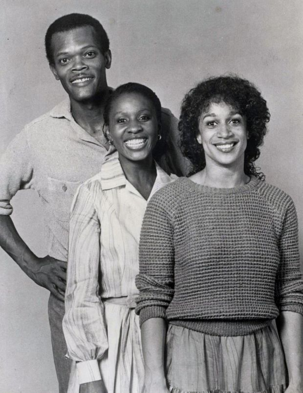 Samuel L Jackson appeared in Dublin in 1982, in a Negro Ensemble Company production of Home, by Samm-Art Williams. Photograph: Gate Theatre digital archive, NUI Galway