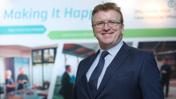 Oisin Geoghegan, head of the network of Local Enterprise Offices