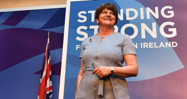The chances of the DUP, under Arlene Foster, in North Belfast have been given a boost by the decision of Ulster Unionist Party leader Steve Aiken  not to run a candidate in the constituency. Photograph: Colm Lenaghan/Pacemaker