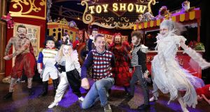 Last year's Late Late Toy Show. RTÉ guarantees Irish children hear Irish voices on programming designed for them. Photograph:  Nick Bradshaw