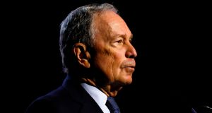 Michael Bloomberg is poised to enter the crowded race for the Democratic presidential nomination. Photograph: JEFF KOWALSKY/AFP via Getty Images