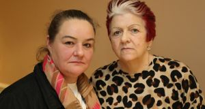 Terri Martin, Waterford and Mary Dalton, Dublin, members of Mesh Survivors Ireland. Photograph: Nick Bradshaw