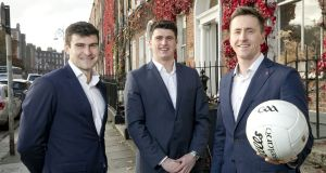 Spot Recruitment founders (from left) Pat Hughes,  David Butler and Cillian O'Connor. Photograph: Iain White/Fennells