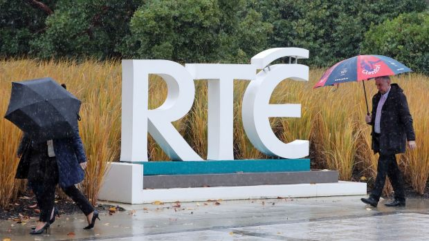Entrance to RTÉ HQ at Donnybrook in Dublin. Photograph: Niall Carson/PA
