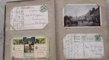 An album of family postcards opened a fascinating gateway to the past