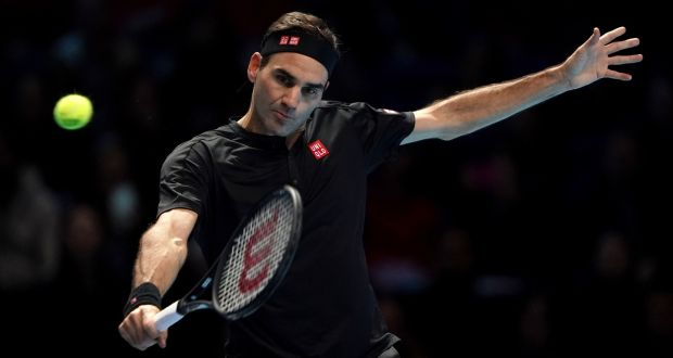 Roger Federer specialised relatively late, becoming serious about tennis only as he neared his teens. Photograph: Tess Derry/PA Wire