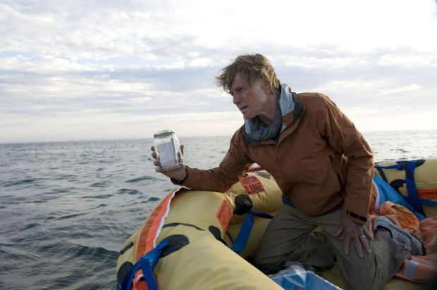 Robert Redford in All is Lost (JC Chandor, 2013)