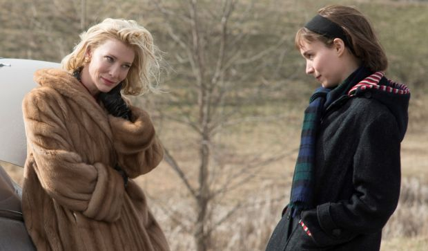 Cate Blanchett and Rooney Mara in Carol (Todd Haynes, 2015)