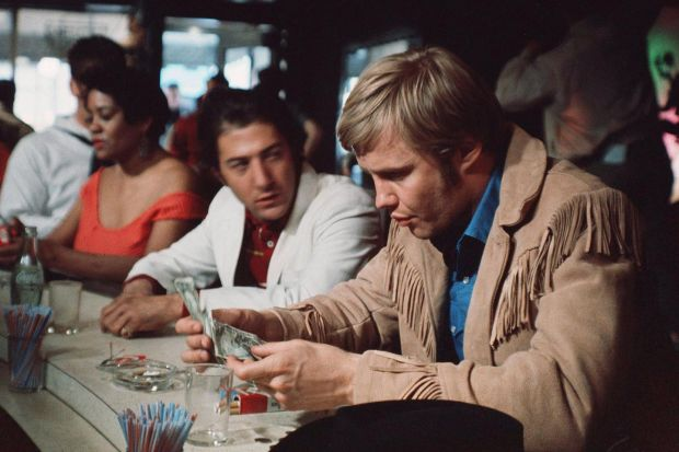 John Voight and Dustin Hoffman in Midnight Cowboy (John Schlesinger, 1969)