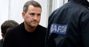 Graham Dwyer's appeal against his conviction remains on hold pending the Supreme Court judgment on the State's appeal. Photograph: Cyril Byrne / THE IRISH TIMES