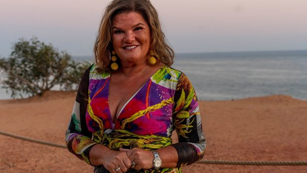 "Claire Ronan in Vale De Lobo: ""People think that the cost of living in two places is more expensive, but when you're in Portugal, you're just living a much simpler life,"" she says."