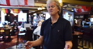 JD Wetherspoon chairman Tim Martin. The company says total sales rose 5.6 per cent for 13 weeks ended October 27th