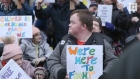 Service users protest planned closure of Ireland's national respite centre