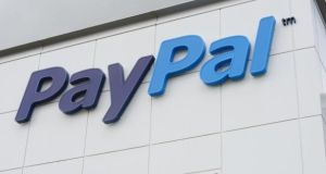 Customers can send up to €25,000 in a single transaction using PayPal's new service. Photograph: Alan Betson