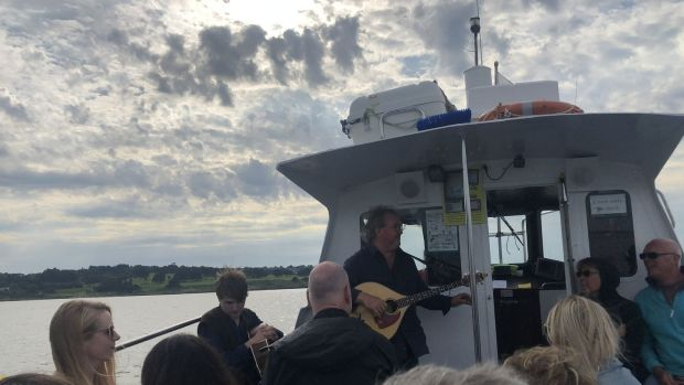 Shanty town: Folk on a Boat features ancient songs sung on a boat to an appreciative audience in Bangor