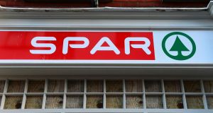 A huge payday is due for the three top executives in the company that owns the Irish Spar franchise.  Photograph: Dara Mac Dónaill