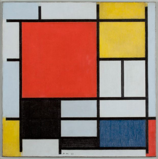 National Gallery of Ireland: the work of Piet Mondrian features in the first Irish show devoted to the work of the pioneering and hugely influential Dutch abstract painter. Photograph courtesy of Kunstmuseum Den Haag
