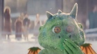 Edgar the excitable dragon burns bright in John Lewis Christmas ad
