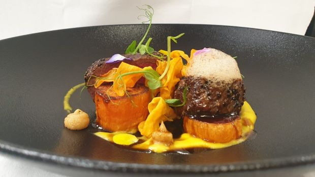 Hayfield Manor in Cork have added venison with coffee foam to the menu of their Orchids Restaurant