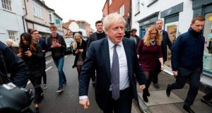 'If Boris Johnson wins a majority there's not going to be much the MPs from Northern Ireland can do to stop him.' Photograph: Getty Images
