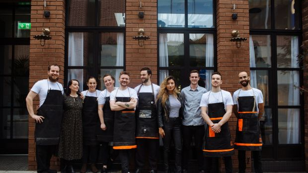 The Allta team, ready for official opening next Wednesday.