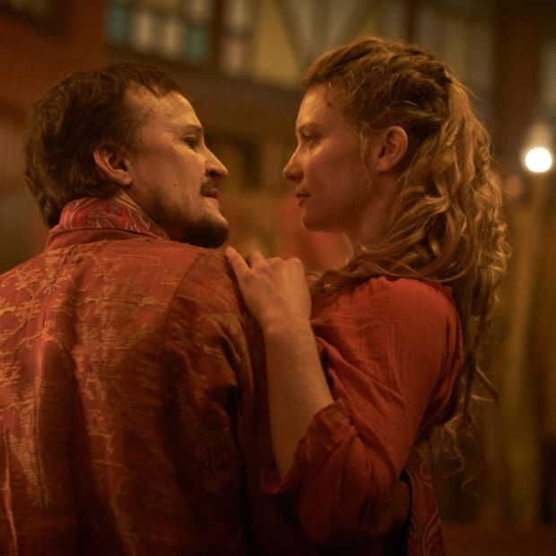 Mia Wasikowska in Judy & Punch with Damon Herriman