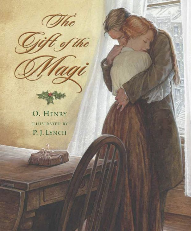Gifts of the Magi by O Henry: delights because it reminds us it is the giving that is most important.