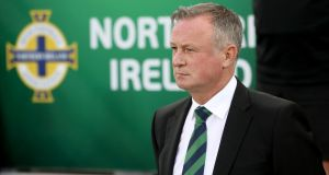 Michael O'Neill: has led Northern Ireland from 102nd in the Fifa world rankings to 34th today. Photograph: William Cherry/Presseye/Inpho