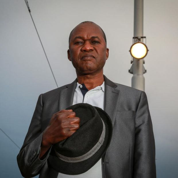 Direct provision: Pierrot Ngadi, one of the first people to go through the system. Photograph: Crispin Rodwell