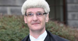 Mr Justice Max Barrett: quashed the deportation order issued by the Minister for Justice. Photograph: Collins