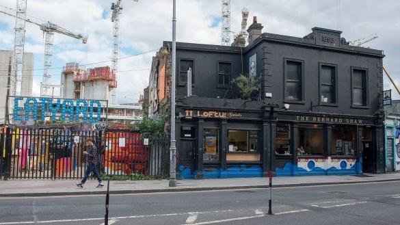 Social media row triggered by Bernard Shaw pub post on gentrifying northside - The Irish Times