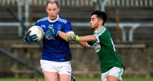 Anthony Thompson's Naomh Conaill side take on Clontibret in the Ulster Club SFC semi-final on Saturday night. Photograph: Evan Logan/Inpho