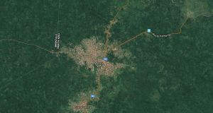 Among the eight victims in Mbau were six members of a single family. Photograph: Google Maps