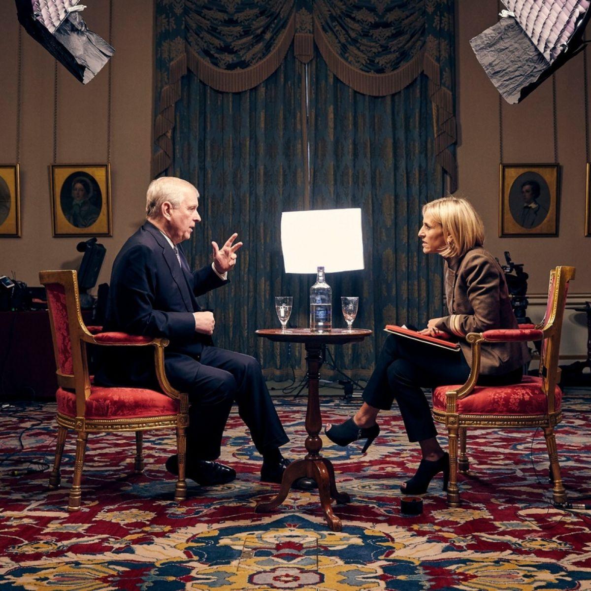 prince andrew epstein interview sweat