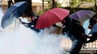 Violence in Hong Kong as police and protesters clash at university